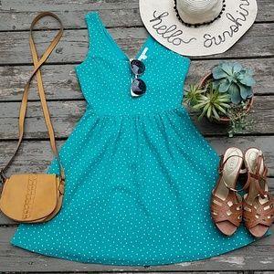 LC Lauren Conrad polka dot dress